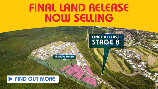 Stage 8 - Final Land Release Now Selling